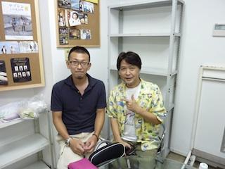 坂元さんとの写真